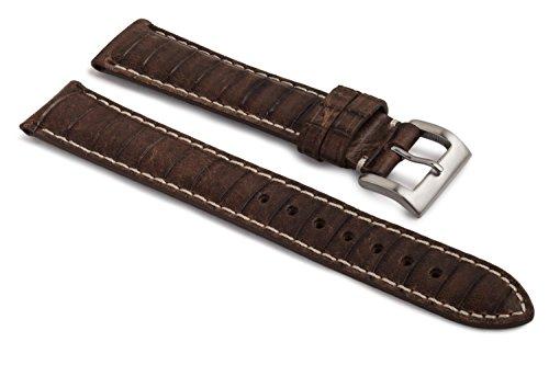 watchassassin-genuine-italian-leather-diamond-grain-brown-hand-made-watch-strap-18mm