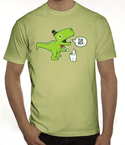 Lustiges Herren T-Shirt mit TeaRex Motiv von ShirtStreet Limone
