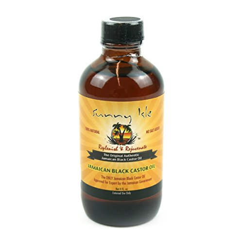 SUNNY ISLE - OIL CASTOR BLACK JAMAICAN (4 oz. - Pack of 1)