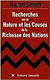 Image de Recherches sur la Nature et les Causes de la Richesse des Nations (Intégrale li