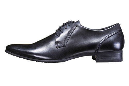 Reservoir Shoes - Chaussure Derbies Kim Black Noir