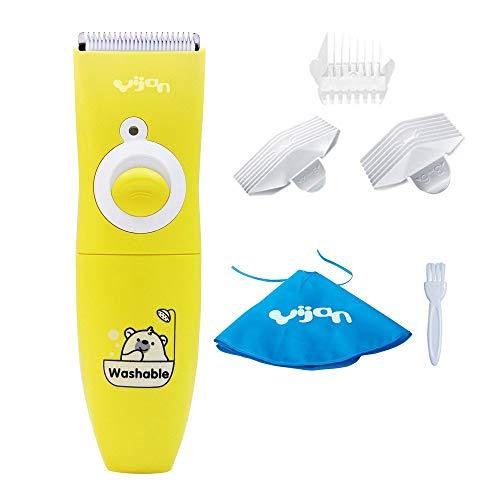 Anself Yijan Batteriebetrieb Kinder Haarschneider Baby Haarschnitt-Maschine Set