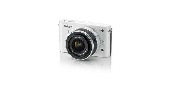 Buy Nikon 1 J1 Digital Camera System with 10-30mm Lens (White) (OLD ...