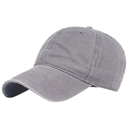 Saingace(TM) Hüte Baseball Cap - Unisex Mütze, Kappe für Herren und Damen, Einfarbige Basecap, rundum geschlossen - Boston Kleinkind Baseball-cap