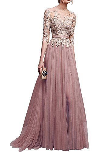 Babyonlinedress Damen Kleid Gr. 42, Blush -