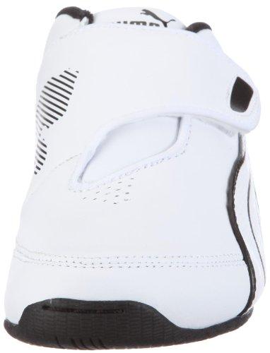 Puma Jr Dr C Iii Nc, Baskets lifestyle garçon Blanc - White - Weiss/white-white-black