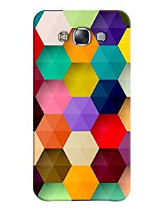 FurnishFantasy 3D Printed Designer Back Case Cover for Samsung Galaxy E5