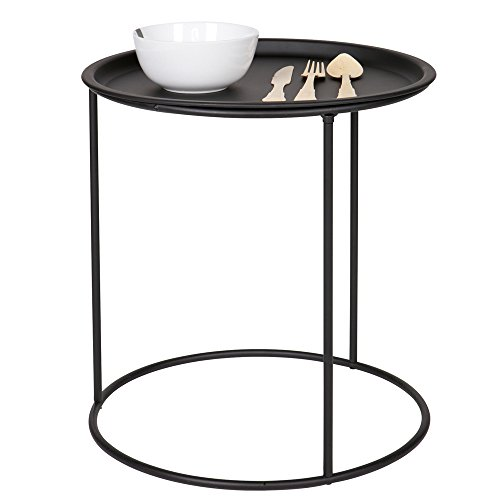 Beistelltisch IVAR rund Ø 40 Tisch Kaffeetisch Ablagetisch Serviertisch Metall