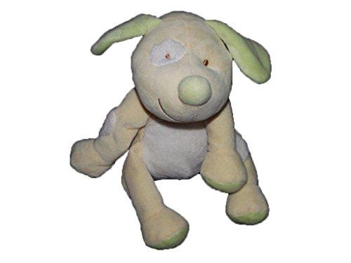 Kiabi–Doudou Kiabi perro amarillo collar azul Cocard...