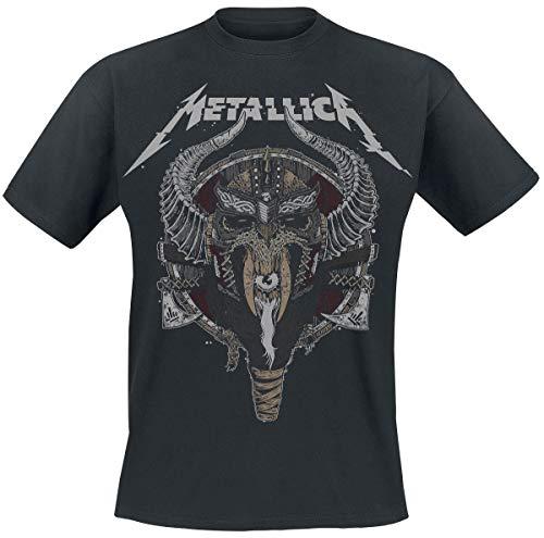 Metallica Viking Camiseta Negro L
