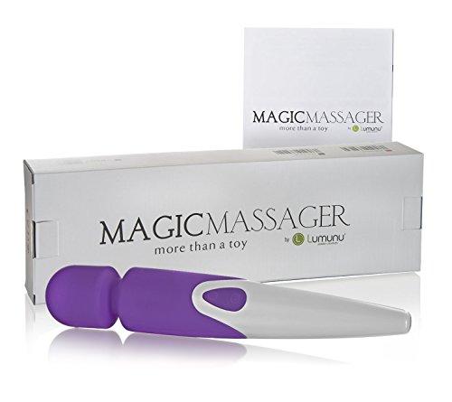 Deluxe Lumunu Magic Massager aus Silikon mit 10 Programmen, wasserdichter Magic Wand - 8
