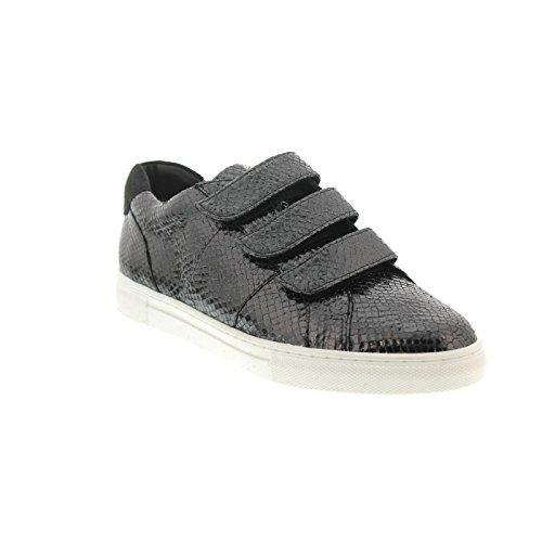 Hasskin Maranello, Sneaker, Fruste-leder, Antrazit / Darkgrey, Vario-fussbett, Weite G 3013547-6266 Antrazit / Darkgrey