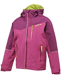 Dare2b High & Dry Childrens, Kids,Boys,Girls Waterproof and Breathable Walking, Climbing, Cycling, Adventuring Jacket / Coat