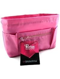 Periea - Organiseur de sac à main + porte-clés, 9 Compartiments - Chesa (Rose)
