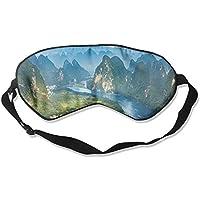 Eye Mask Eyeshade Mountains Village Sleep Mask Blindfold Eyepatch Adjustable Head Strap preisvergleich bei billige-tabletten.eu
