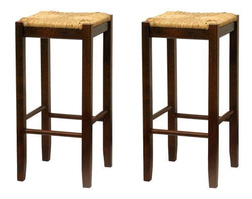 winsome-94770-rush-seat-29-inch-beechwood-stool-antique-walnut-set-of-2