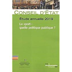 Le sport : quelle politique publique ? : Etude annuelle 2019