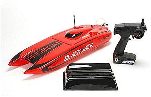 Pro Boat Blackjack 24 Brushless Renn-Katamaran 2,4 GHz RTR Set PRB08007