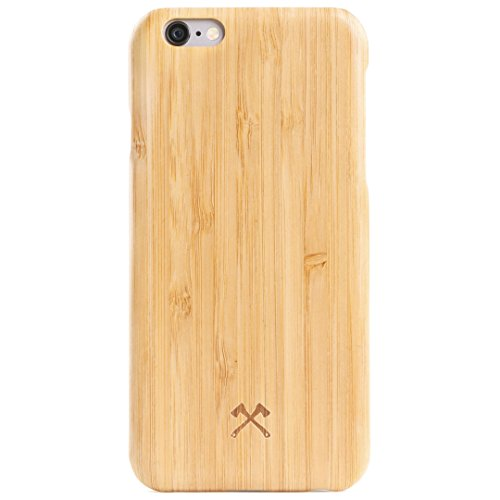 Woodcessories - Hülle, Case kompatibel mit iPhone 6 Plus, iPhone 6s Plus, EcoCase Slim (Bambus) (Iphone 6 Holz-hülle (slim)