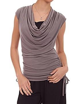 Laeticia Dreams - Camisas - Túnica - Sin mangas - para mujer marrón 38