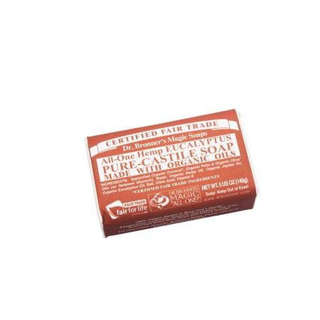 Dr. Bronner Eucalyptus Soap 1 Bar -