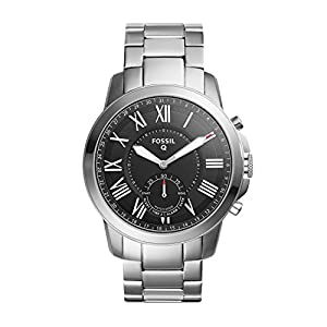 Fossil Men's Analog Quartz Watch with Stainless Steel Bracelet FTW1158