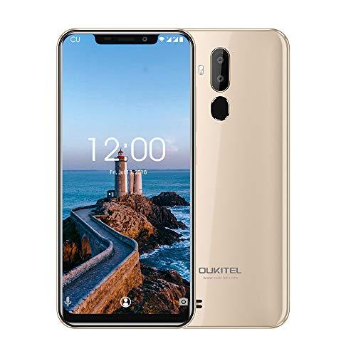 OUKITEL C12 Pro 4G Móviles y Smartphones Libres,6.18 Pulgadas con U-Notch (relación 19: 9),Android 8.1 Double...