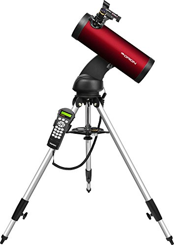 Orion 13159 StarSeeker IV GoTo – Telescopio reflector de 114 mm (Burgundy)