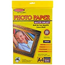 Bambalio B-BMP 100-100 Coated Photo Paper, A4 Size, 100GSM - Pack of 100