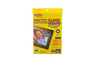 Bambalio BMP 100-100 Matt Coated Photo Paper - A4, 100 gsm, 100 Sheets