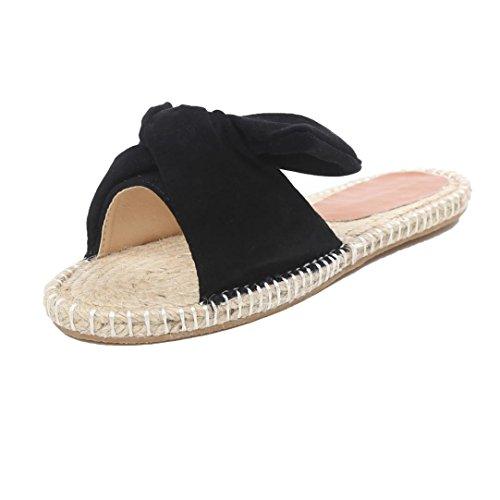 Senhoras Transer® Chinelo Plana Cáqui Respirável Pvc Preto Azul + Malha Sapatos Casa Da Grama Com Gr.36-40 Botão