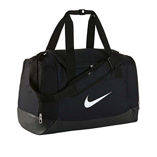 Nike Tasche Club Team Duffel, black/white, 40 x 23 x 27 cm, 43 Liter, BA5194-010