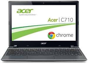 Acer C710 29,4 cm (11,6 Zoll) Chromebook (Intel Celeron 847, 1,1GHz, 2GB RAM, 320GB HDD, Intel HD, Chrome) grau