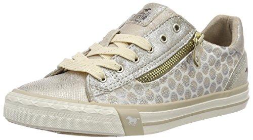 Mustang Damen Sneaker Silber/Grau, Schuhgröße:EUR 45
