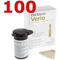 OneTouch Verio - 100 Streifen reaktive für Test der Blutzucker - One-touch preisvergleich bei billige-tabletten.eu
