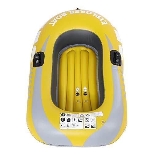 VGEBY1 Barca Gonfiabile, Canoa Gonfiabile Canoa kajak 1 Persona per Pesca, Andare deriva,...