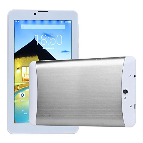7-Zoll-HD Dual-SIM-Kamera 3G Dual-Core-Tablet PC Android 4.2 WIFI Bluetooth (Sliver) (Gsm 7-zoll-tablet-telefon)