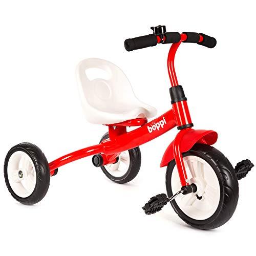 boppi Triciclo Infantil 3 Ruedas con Pedales - Rojo