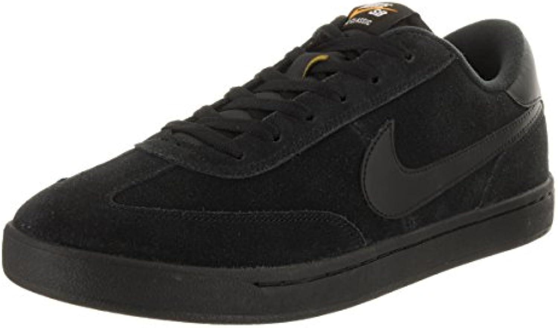 Nike - Zapatillas de skateboarding de Piel para hombre negro Black/Black-White negro Size: 42