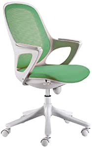 Maglo Office Chair Green With Wintex Fabric Swivel Executive Desk Furniture New