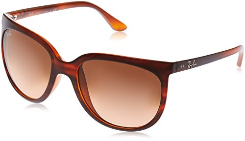 Ray-Ban Damen Sonnenbrille 4126, Schwarz (Negro), 57