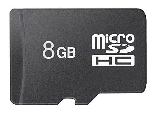 Aidodo Micro SDHC Karte, SD Karte 8GB, Speicherkarte Micro SD, Speicherkarte 8GB, Speicherkarte SD bis zu 80 MB/Sek, Micro SD TF Karte Class 10 für Smartphone Autokamera Tablet (8g Speicherkarte Der Kamera)
