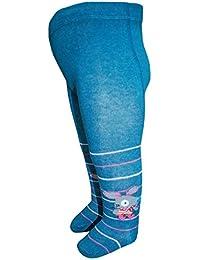 EBI& EBI - Maus Baby Strumpfhosen für Mädchen, blau
