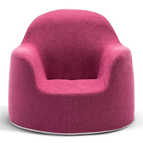 ch-AIR Einzelne Kindersofa Stuhl Schwammfüllung Geeignet für Kinder von 0-5 Jahren für Wohnzimmer, Schlafzimmer 52X44cm (Farbe : Color#2)