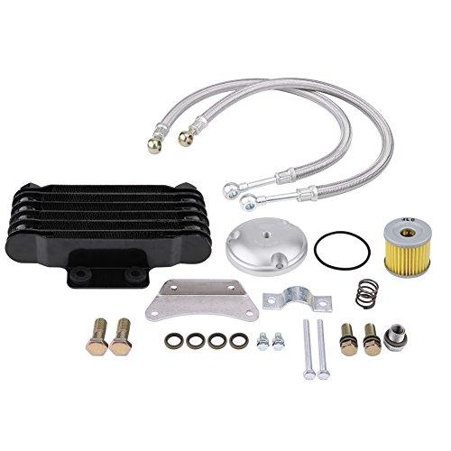 KIMISS Ölkühler, Motorrad Motor, Kühler Heizkörper Kit für GN125EN125en150GZ125GZ150 -