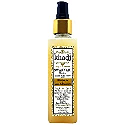 Khadi Global Swarnadi Classical Facial MIST Toner with 24K Gold Dust and Arabian Oudh Essential Oil, 100ml