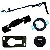 BisLinks® Schwarz Zuhause Taste Kamera Bracket Flex Klebstoff Austausch for iPad Air 5