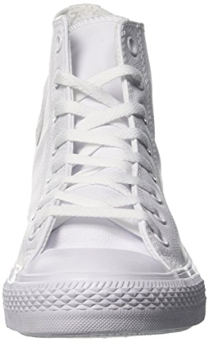 Converse - Chuck Taylor All Star Mono Hi - Sneakers Haute - Mixte Adulte Blanc