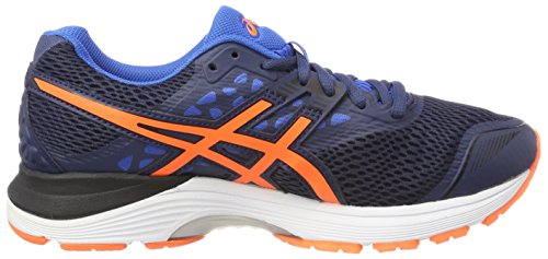 Asics Gel-Pulse 9, Scarpe da Running Uomo Blu (Dark Blue/Shocking Orange/Victoria Blue)