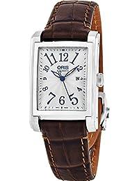 Oris Herren-Armbanduhr Armband Leder Schweizer Automatik 01 561 7657 4061-LS